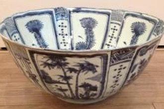 Large wan-li bowl