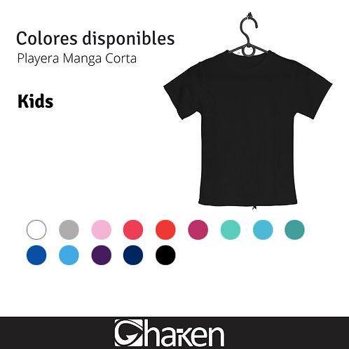 Playera Personalizada Kids