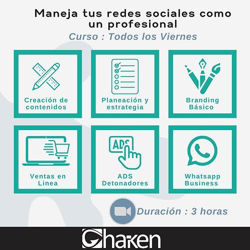Curso Manejo de Redes Sociales