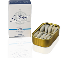 La Brujula N31 Small Sardines in Olive Oil