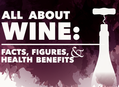 All About Wine: Facts, Figures, and Health Benefits