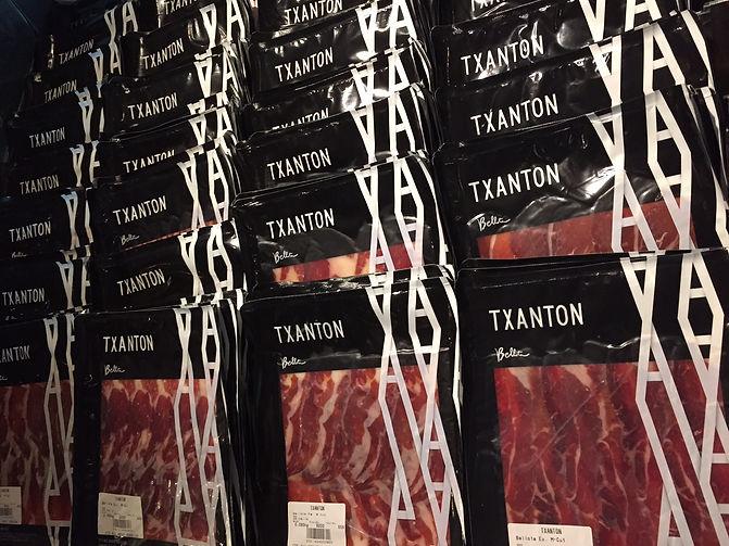 Various Sliced Jamon at TXN Corner
