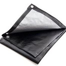 Ground Sheet/Tarpaulin - Black (BRTARP)