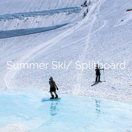summer ski splitboard