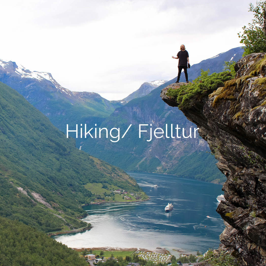 hiking fjelltur
