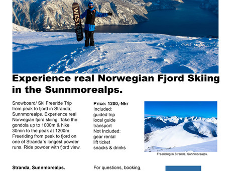 Introducing the peak to fjord trip