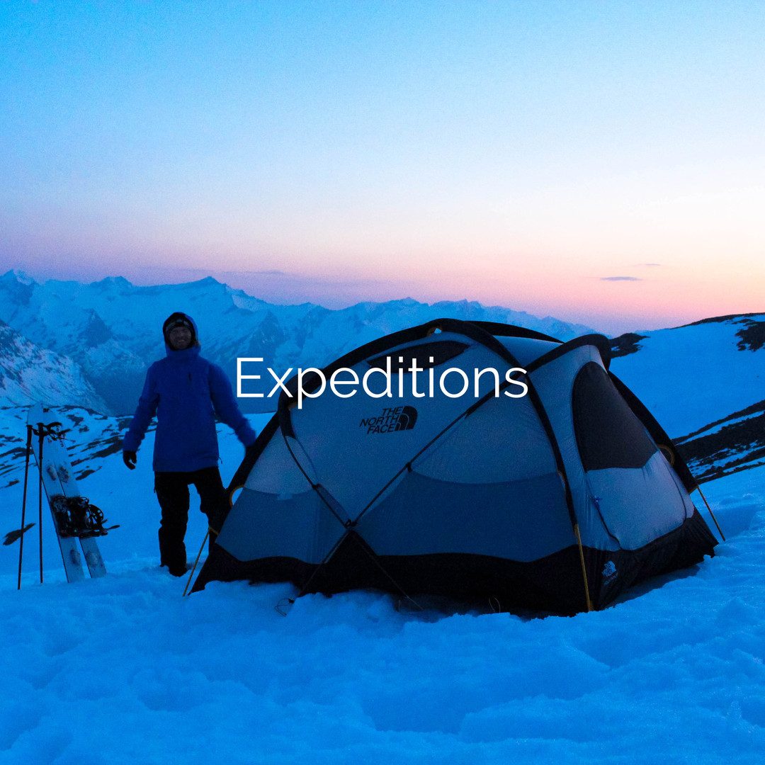 Winter Camping Expedition