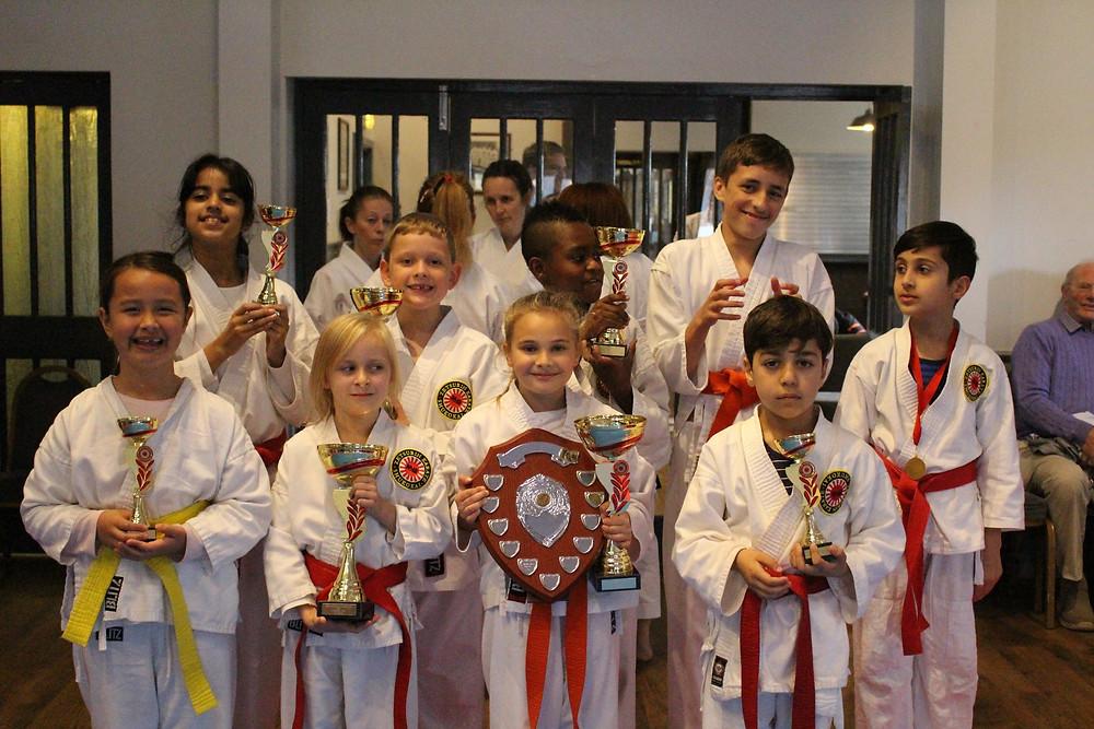 Karate Kata students from leeds