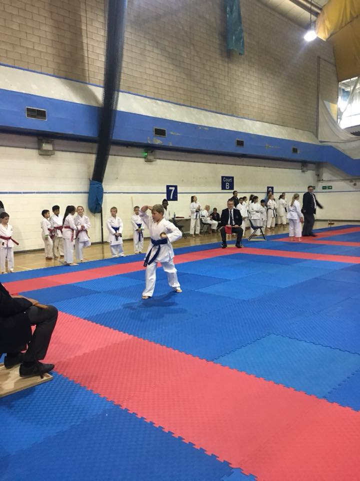 Alex steps on to the tatami for the first time