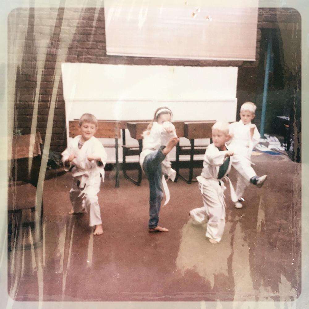 Karate beginners