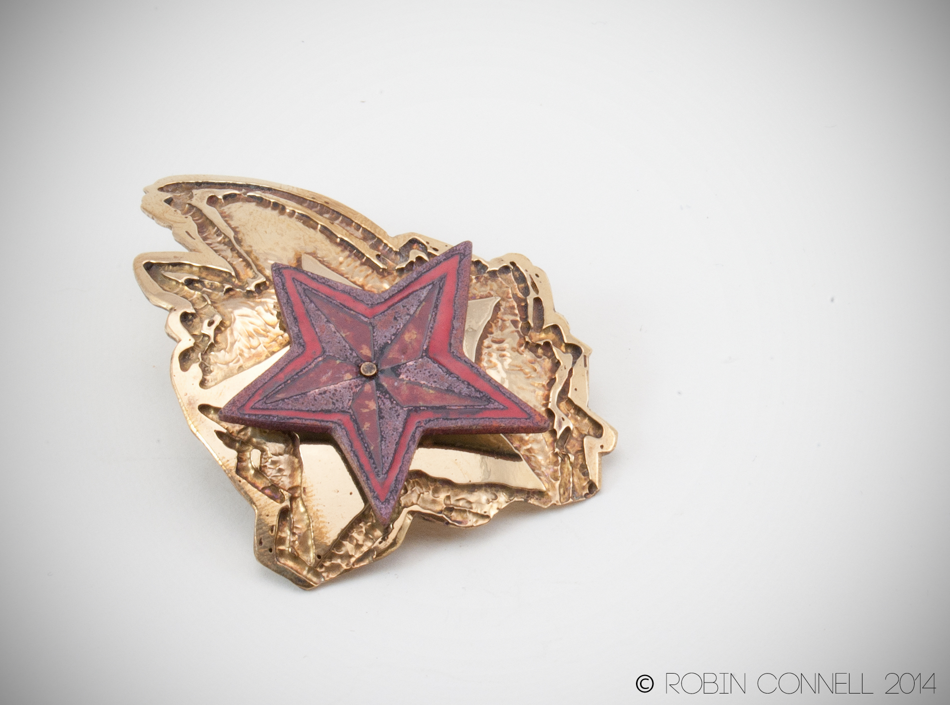 """Shooting Star."" Pin."