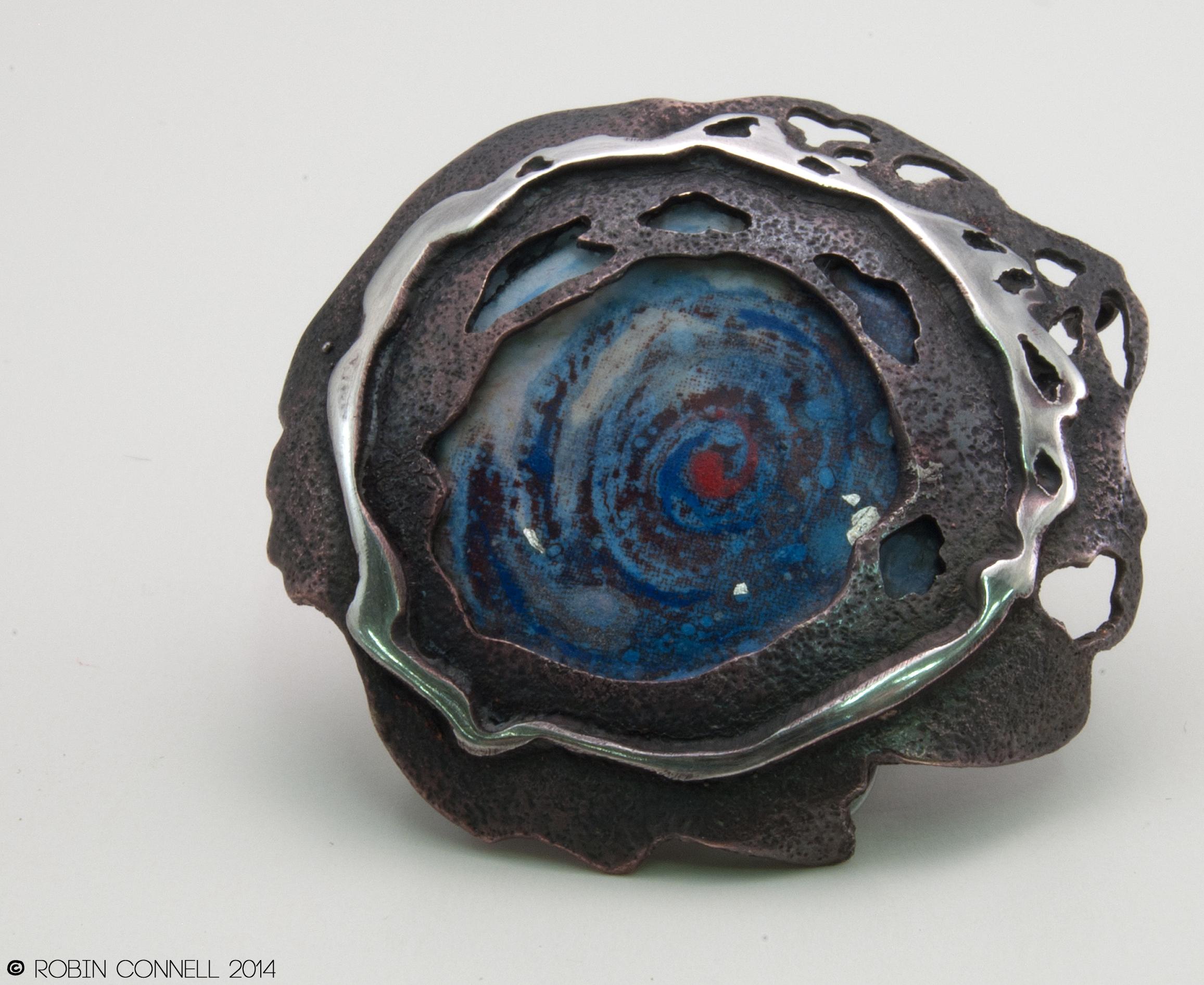"""""""Celestial,"""" brooch."""