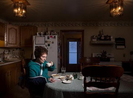 Ужин у жителей США в фотографиях Луи Билфилда