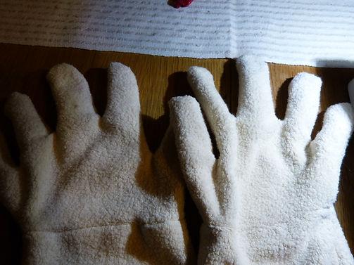 Klappmaulpuppe Hände