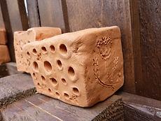 WildbienenHotel aus Ton
