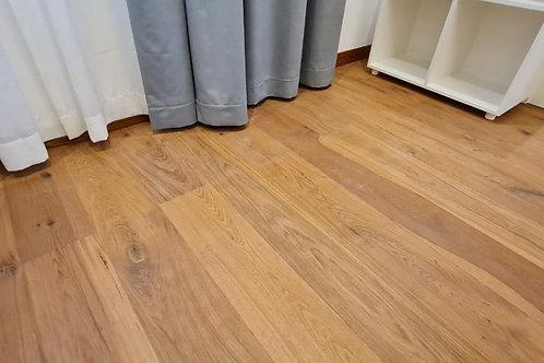 Antique Rustic Oak Floor Boards - Bourbon