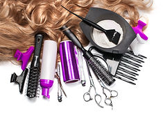 hairdresser Accessories for coloring hai