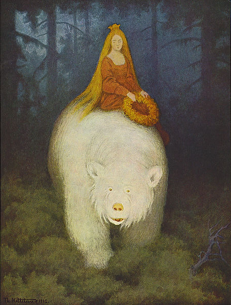 Illustration byTheodor Kittelsen The whi