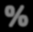 Icône de gris pour cent