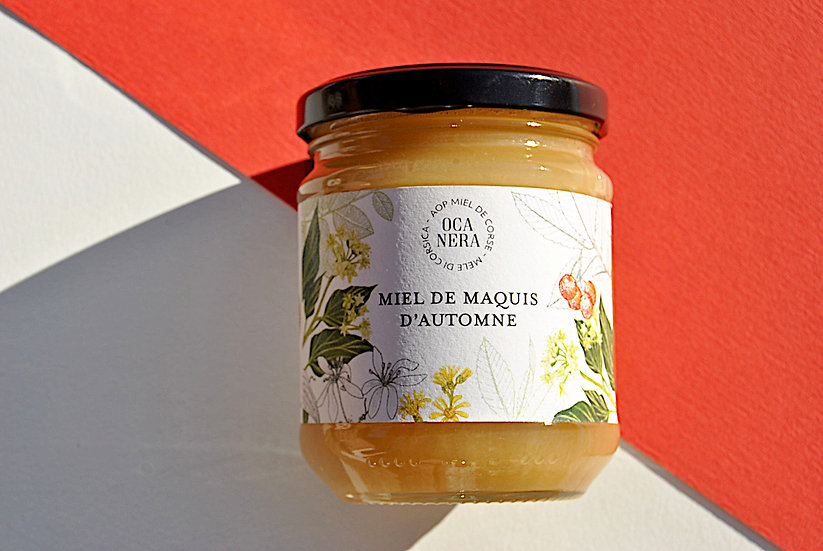 Miel de Maquis d'Automne AOP Miel de Corse - Mele di Corsica
