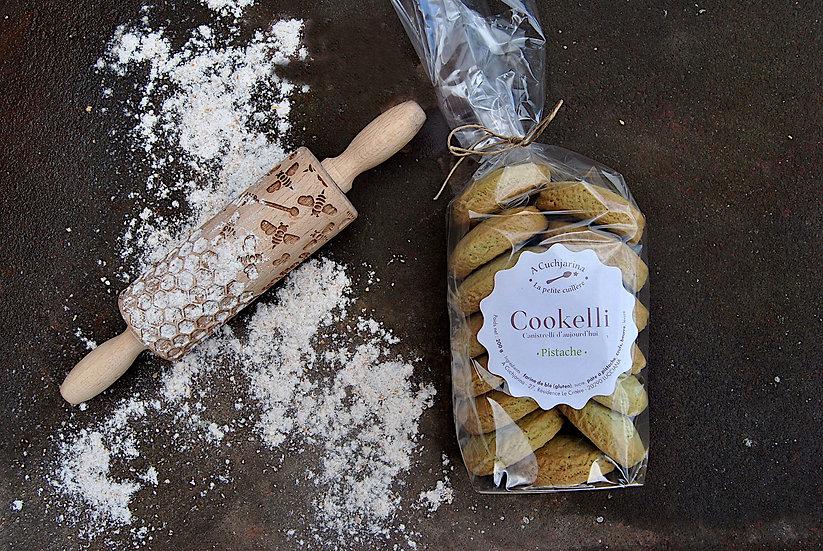 Cookelli à la Pistache  - A Cuchjarina