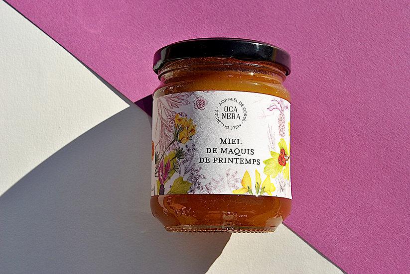 Miel de Maquis de Printemps  AOP Miel de Corse - Mele di Corsica
