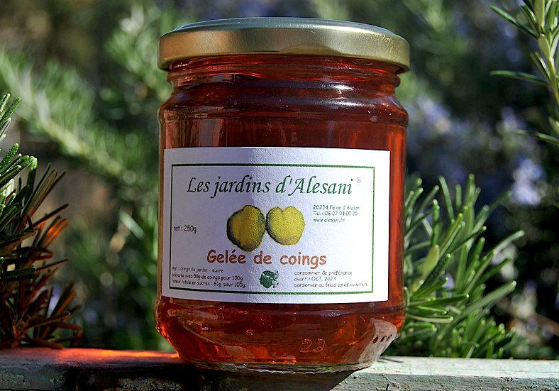 Gelée de coings - Les Jardins d'Alesani