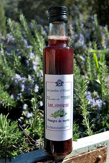 Vinaigre de Myrte - Les Jardins d'Alesani