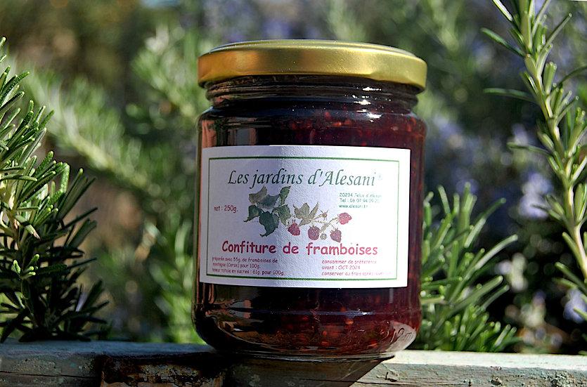 Confiture de Framboises - Les Jardins d'Alesani