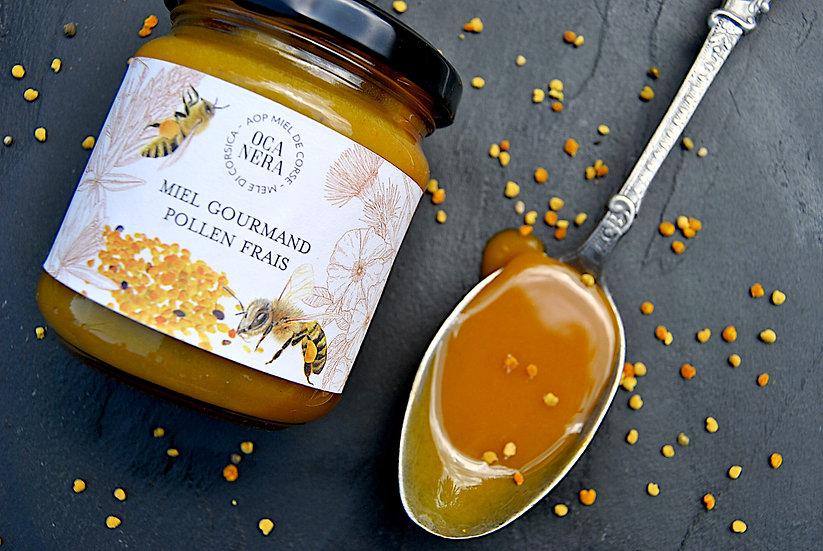 Miel Gourmand - Pollen frais