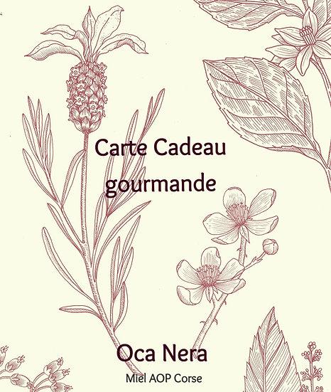 CARTE CADEAU OCA NERA