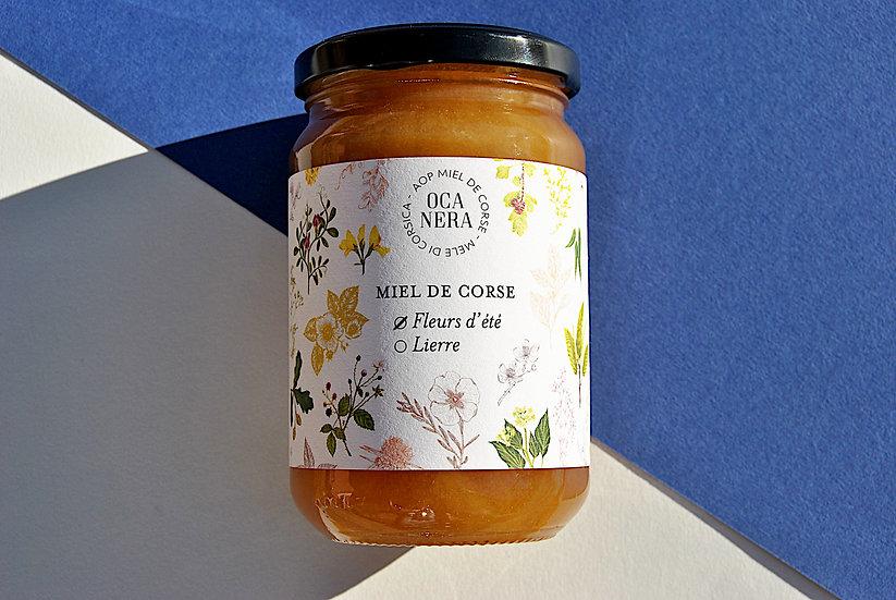 Miel toutes fleurs d'été récolté dans le Fiumorbu
