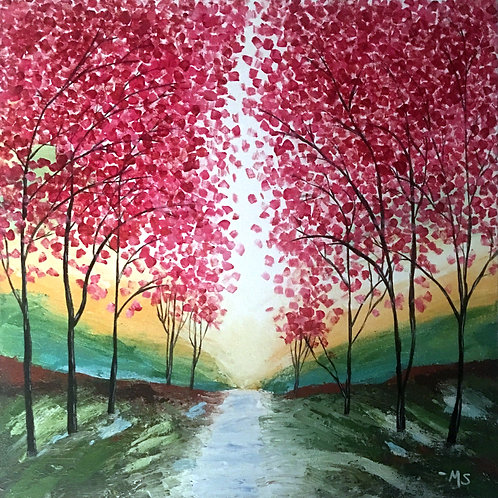 Path of Pink- limited signed print