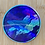 Thumbnail: Holographic Whale Milky Way Dream Sticker 3x3