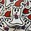 Thumbnail: Present Ghost Sticker- clear matte 3x2