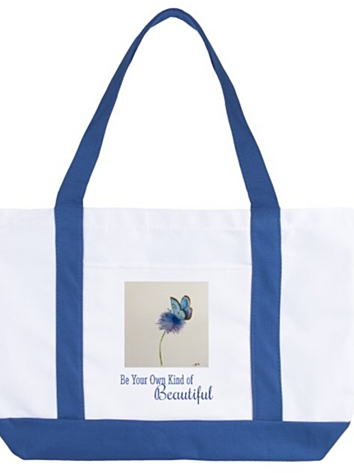 Large boat Tote bag- be your own kind of bea