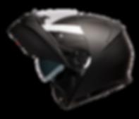 Raptor Black Perfil Open Helmet.png