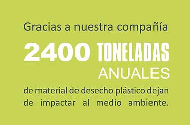 2400 toneladas anuales Tecnorem