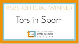 Tots in Sport SBS Winners Badge