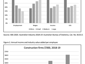 Comparing Large and Small Construction Firms