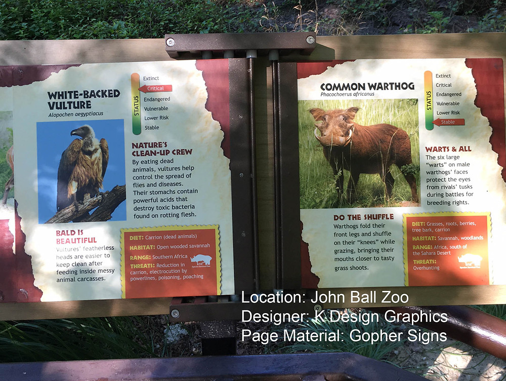 Gopher Signs Aluminum Pages