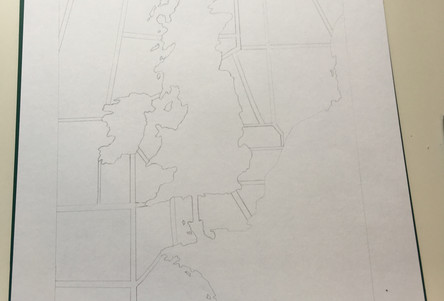 sketch of map
