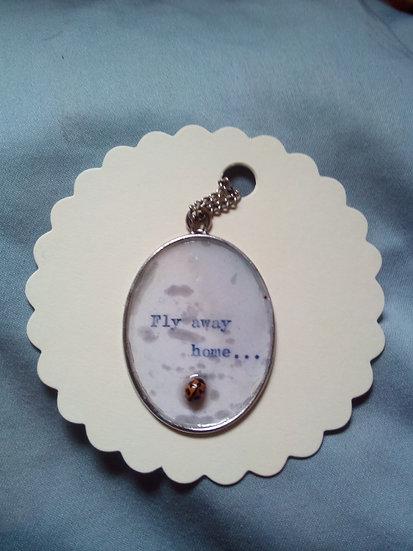 'Ladybird, Ladybird' pendant