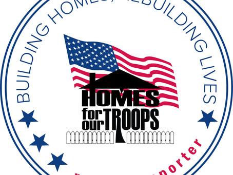 Giving Back to Veteran's Housing
