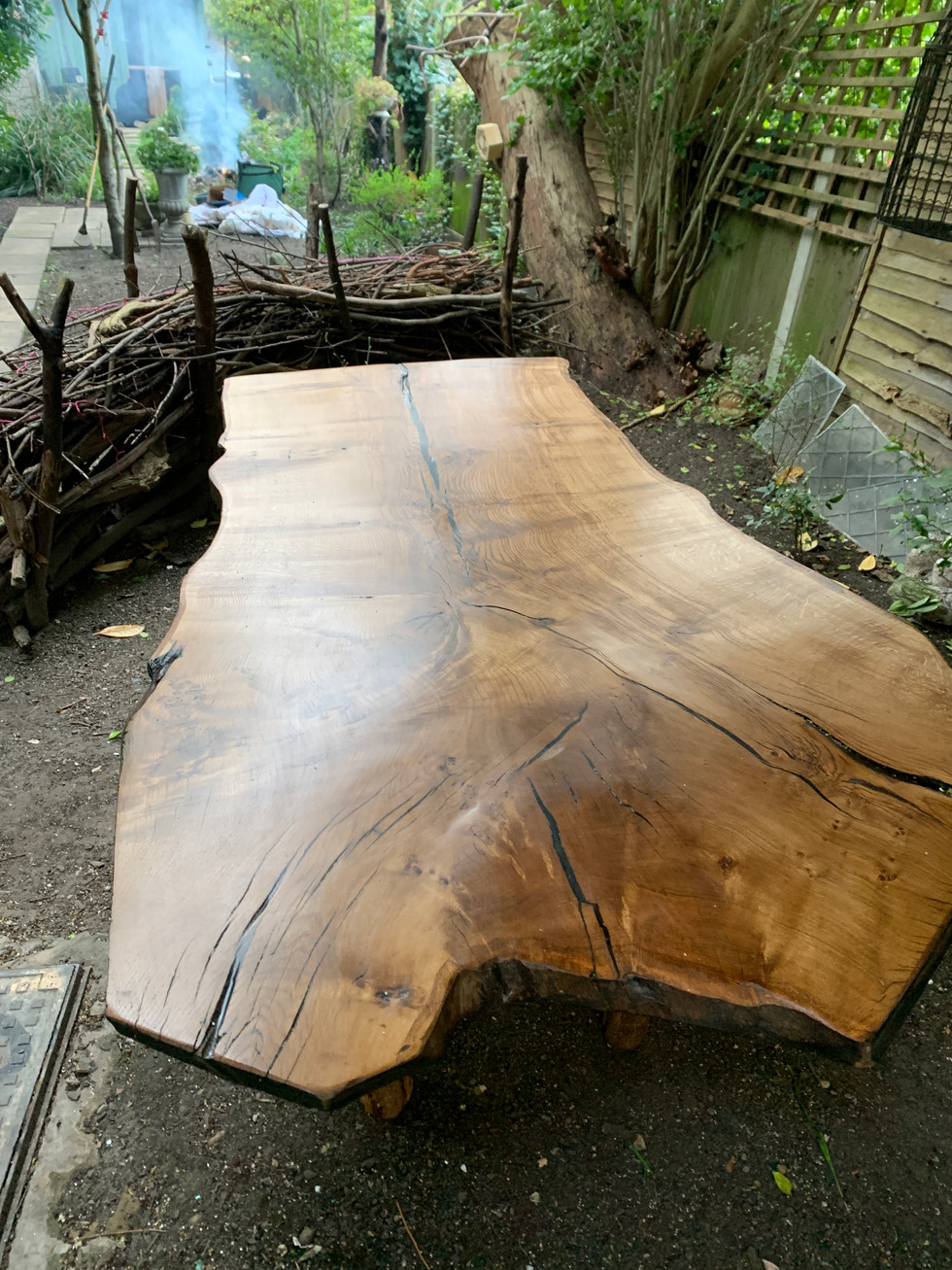 Oak Crown Table