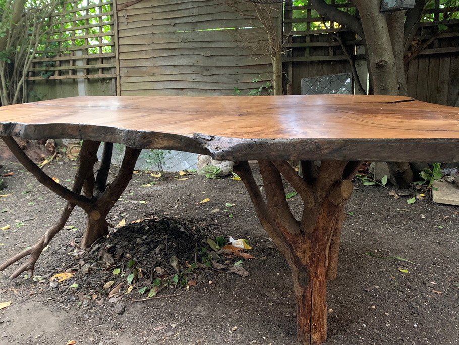 Dining Table with Branch Legs
