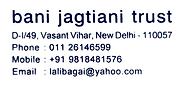 Logo of bani jagtiani trust.