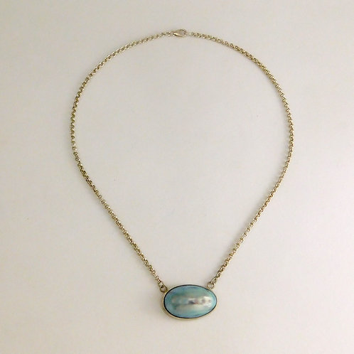 Mabe Pearl Necklace