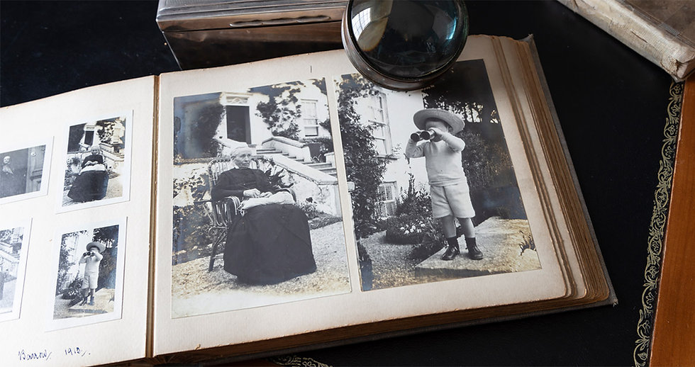 An image showing photos from the McCowen