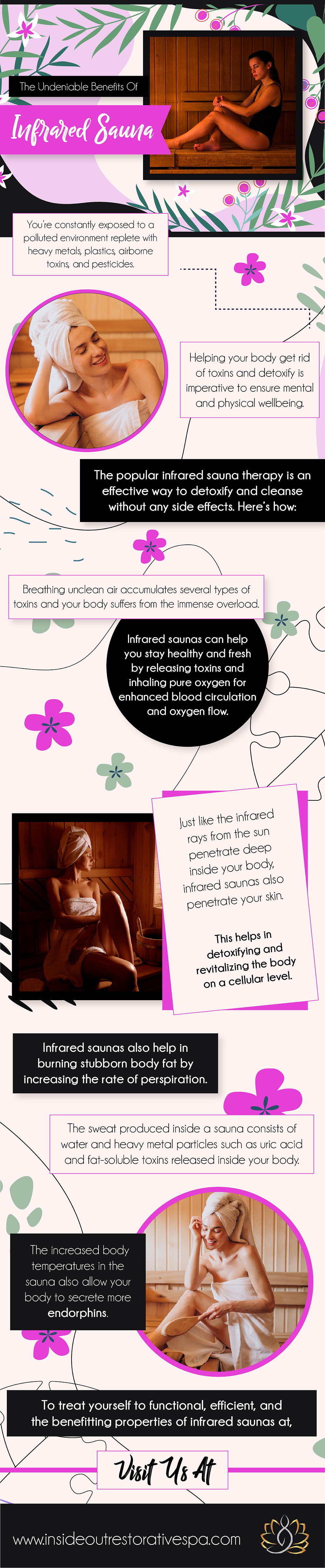 The Undeniable Benefits of Infrared Sauna - Infograph
